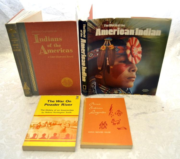 American Indian Book Lot