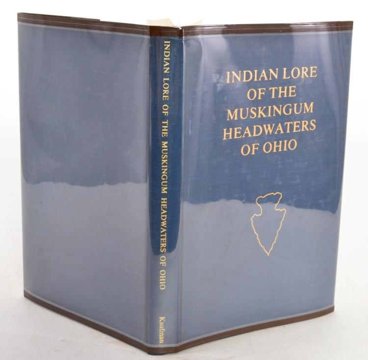 Indian Lore of Muskingum Headwaters of Ohio
