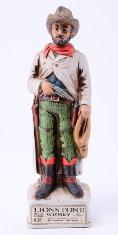 Lionstone Whisky Decanter Robber