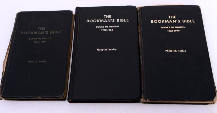 3 Vol. Bookman's Bible