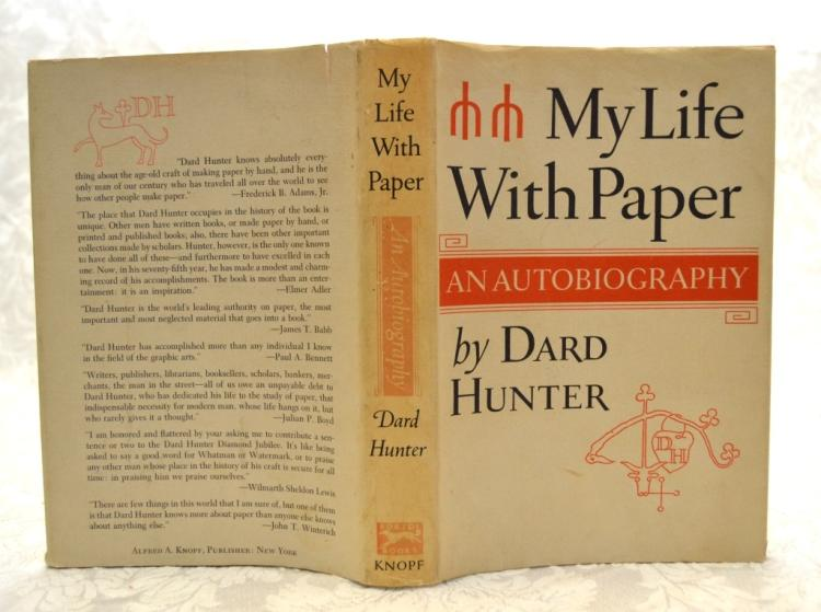 David Hunter's Autobiography My Life w/Paper