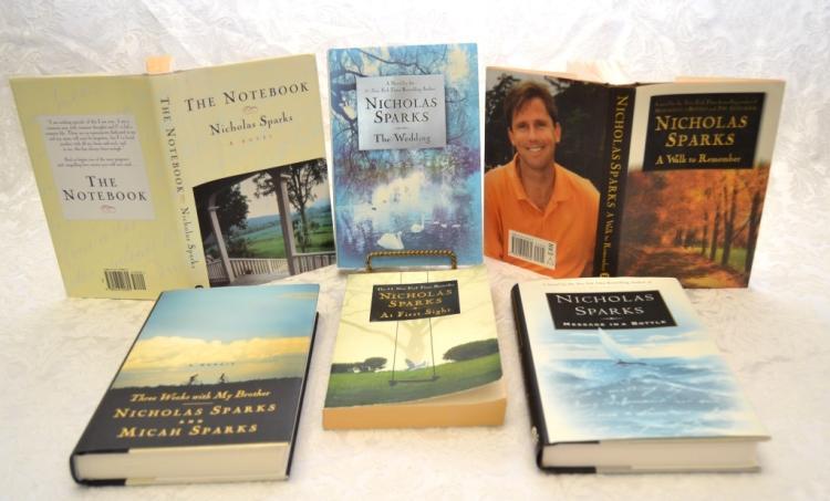 Nicholas Sparks' Books