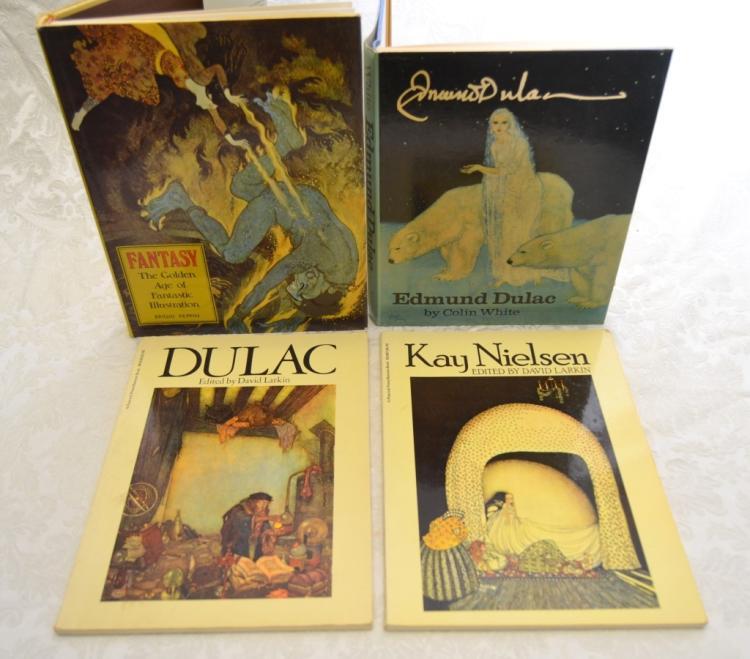 Dulac, Nielsen & Fantasy Books