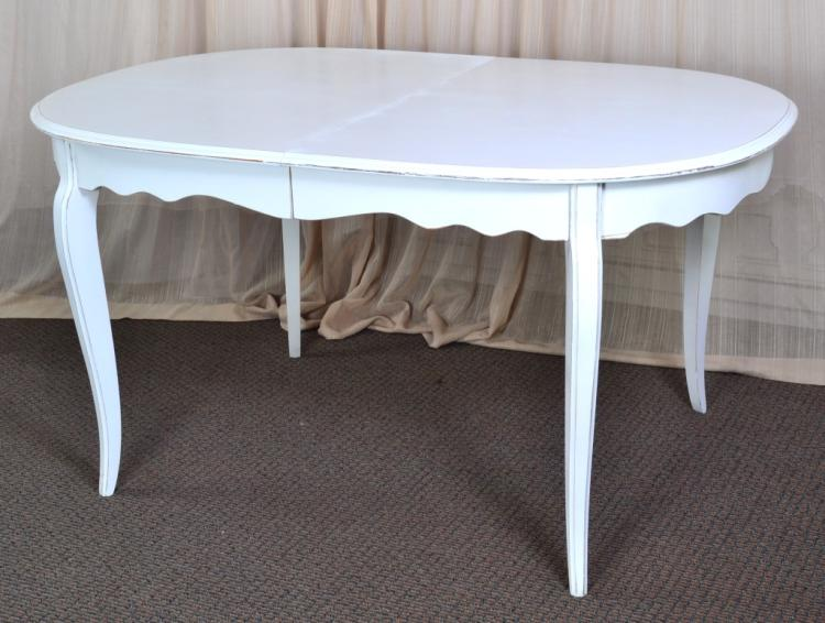 White Painted Dining Table