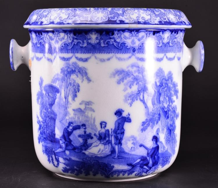 Double Handled Chamber Pot w/Liner