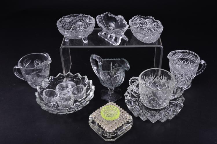 Clear Glass Lot