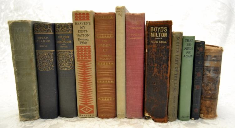 Vintage & Antique Book Lot