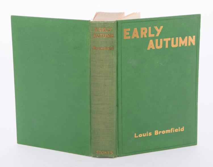 Louis Bromfield's Early Autumn