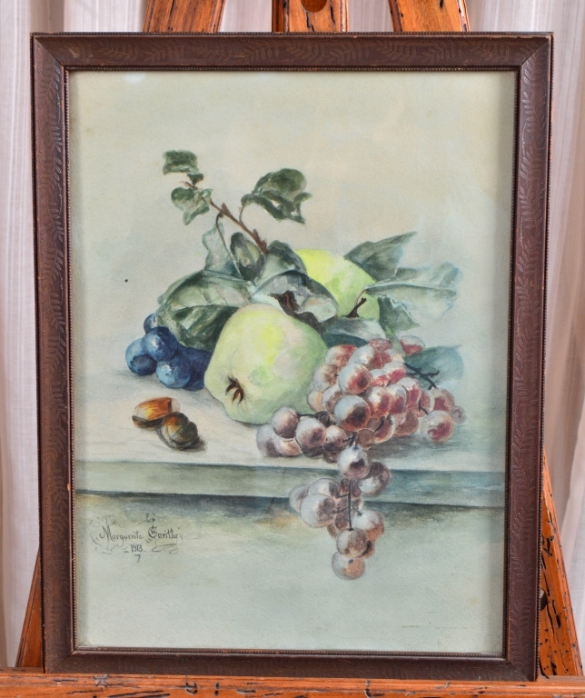 Watercolor Still Life by Marguerite Garity 1913