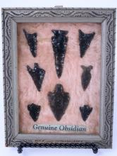 Obsidian Bird Points from Lake County Oregon