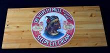 Sleepy Eye Mills Advertising on Board