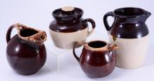 Brown & White Pottery Inc. Hull & Roseville, Ohio
