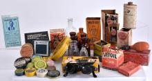 Vintage Advertising Tins, Boxes, Bottles & Radio