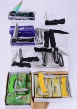 Boxed Fishing Theme Pocket Knives Plus