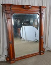 Antique Beveled Pier Mirror