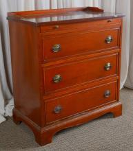 Single Dresser w/Gallery & Pull Out Shelf