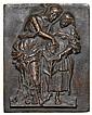 Andrea Briosco, called Riccio (c.1470-1532) Judith with the head of Holofernes, rectangular bronze plaquette, 102mm. x 80.5m..., Andrea Riccio, Click for value