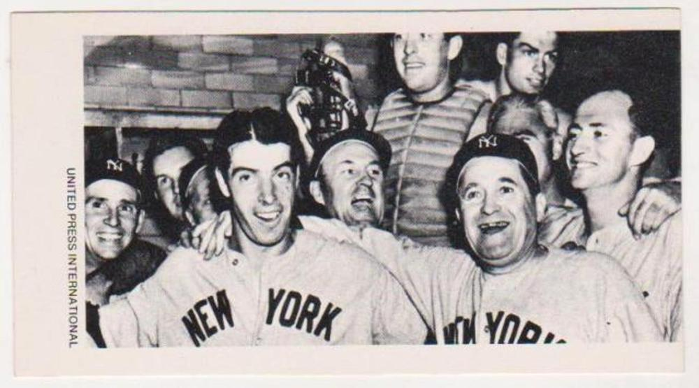 1979 UPI Joe DiMaggio Greatest Moments in Sports History Card - EXTREMELY RARE!