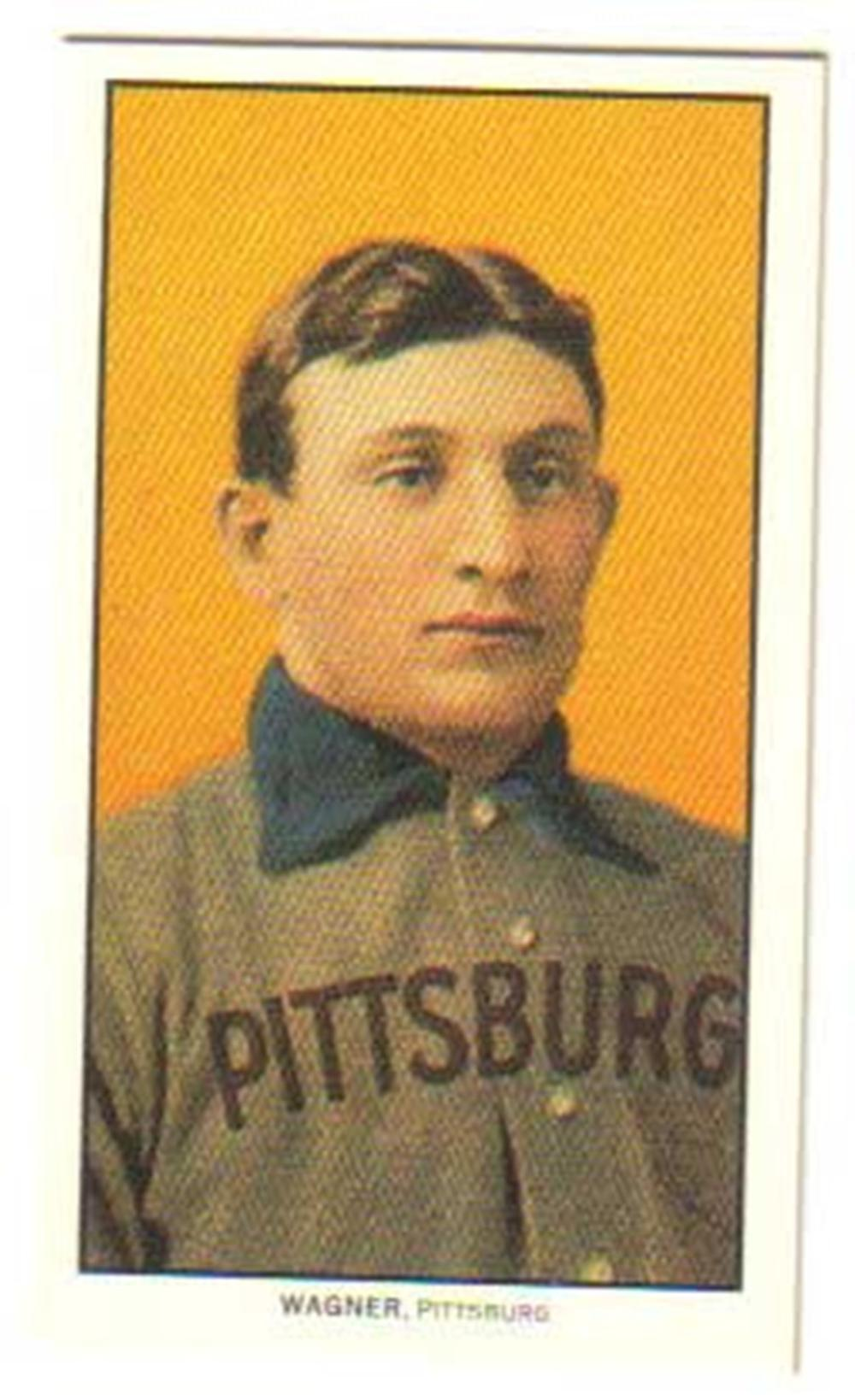 1910 T-206 Honus Wagner - Wagner Estate, CMG Authentic Reproduction