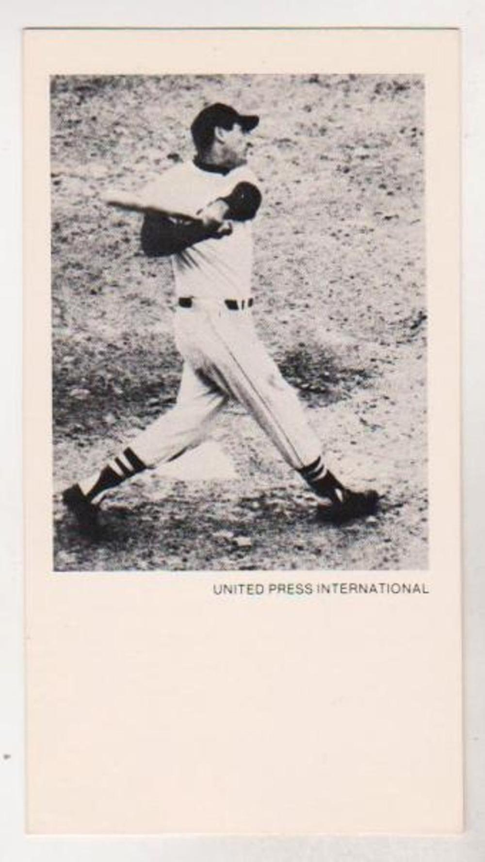 1979 UPI Ted Williams Greatest Moments in Sports History Card - EXTREMELY RARE!