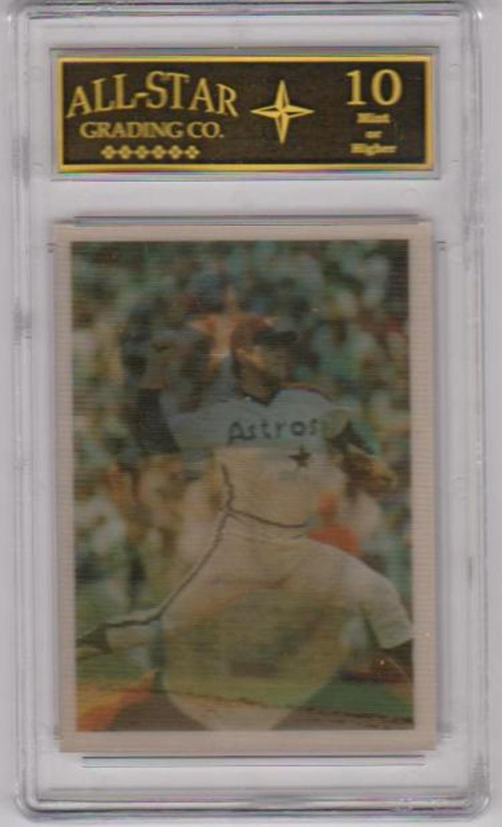 Graded 10 - Nolan Ryan 1986 Sportsflics #43 Card - HOF'er