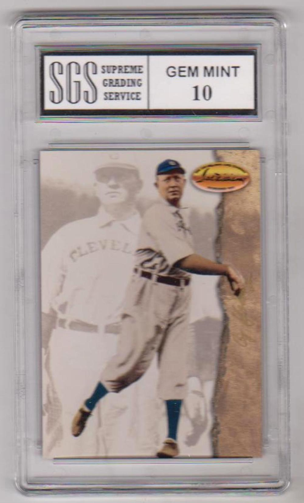 Graded Gem Mint 10 Cy Young 1994 Ted Williams Company #7 Card