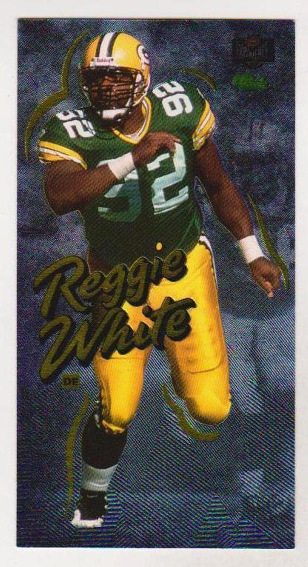 Lot of 5 1995 Classic NFL Experience Reggie White #15 Of 15 Cards - Scarce
