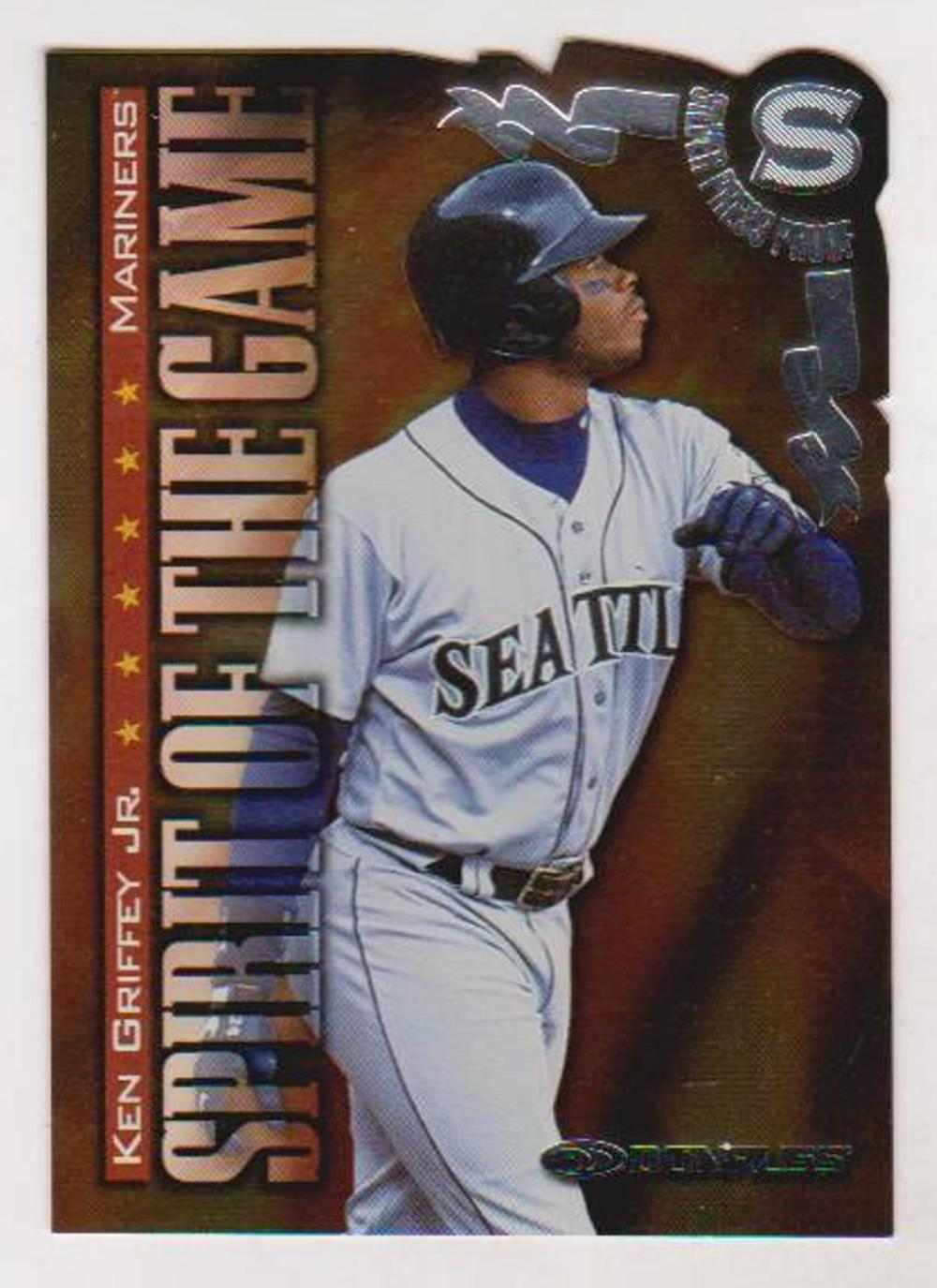 1998 Donruss Silver Press Proof Ken Griffey, Jr. #386 Insert Card (1 of 1500)