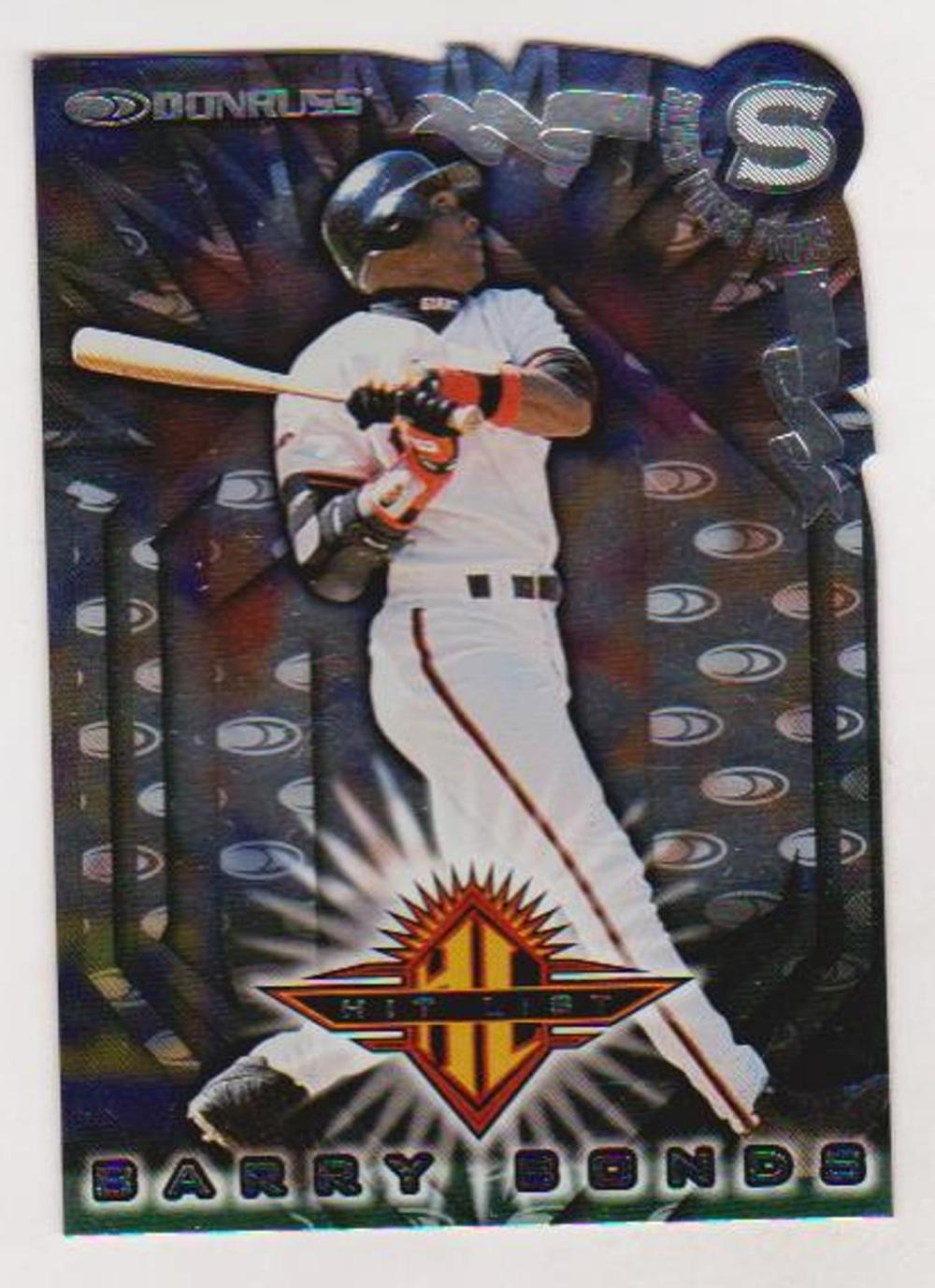 1998 Donruss Silver Press Proof Barry Bonds #347 Insert Card (1 of 1500)