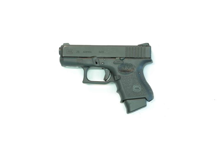Glock 26gen3, 9 mm Luger, #BVN400, § B