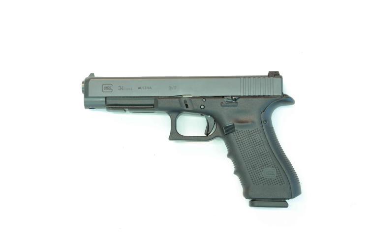 Glock 34gen4 IPSC, 9 mm Luger, #ZPK638, § B