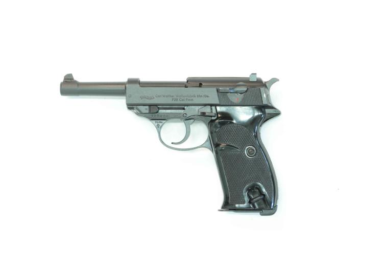 Walther Ulm, P38, 9 mm Luger, #329076, §B