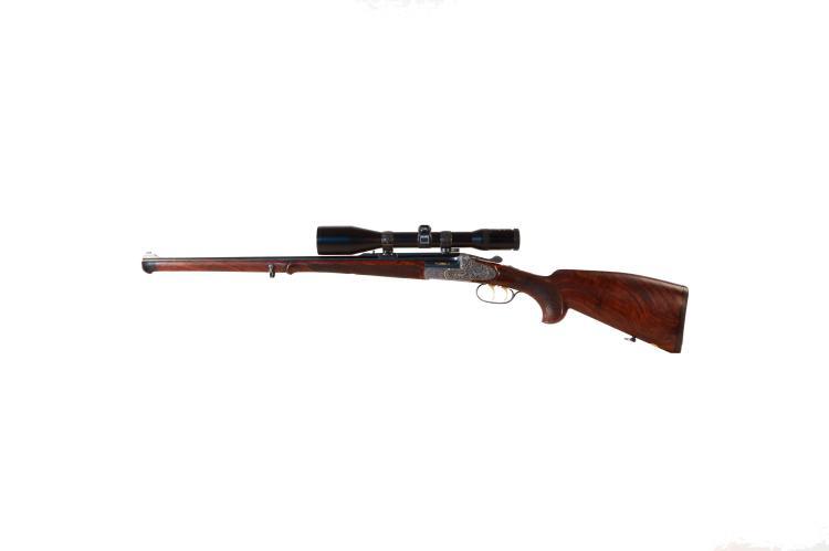 break action rifle Karl Hauptmann - Ferlach, .6,5x57R, #232446, § C