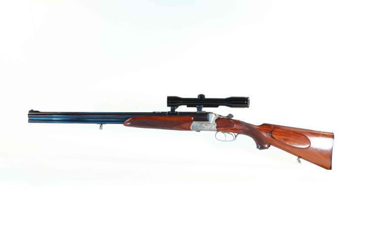 O/U combination gun Franz Sodia - Ferlach, Anson & Deeley, 6,5x57R; 16/70, #7473, § C