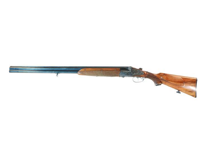 sidelock-O/U shotgun Martin Kruschitz - Vienna, 16/70, #251966, § D
