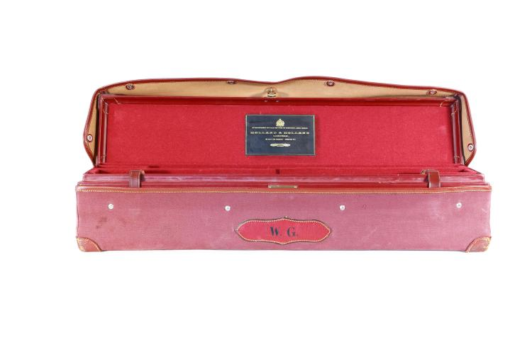 Holland & Holland - London,  leather motor case