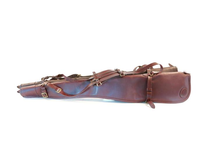James Purdey & Sons - London,  leather set of gunsleeves