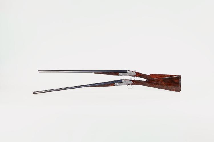 pair S/S shotgun Flli Rizzini Gardone, 20/70, #1782 and #1783 § D