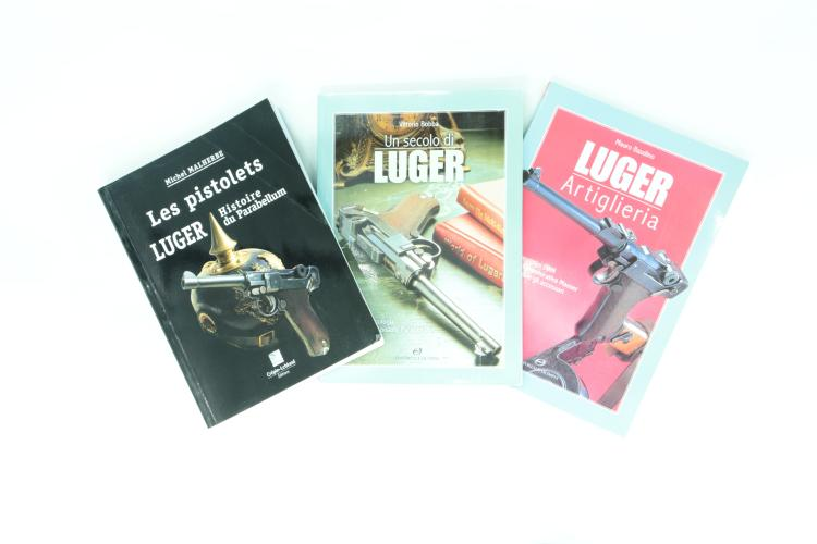 Luger literature, mixed lot *