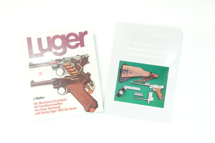 Luger literature, mixed lot *