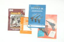Luger literature, focus P08, mixed lot *
