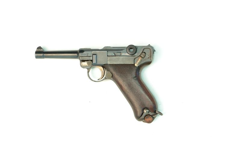 Bulgaria, DWM, model 08, 9 mm Luger, #408 & 9062, § B *