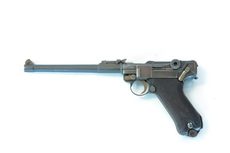 Imperial Germany, DWM, lange Pistole 08 1917, 9 mm Luger, #8172b, § B *