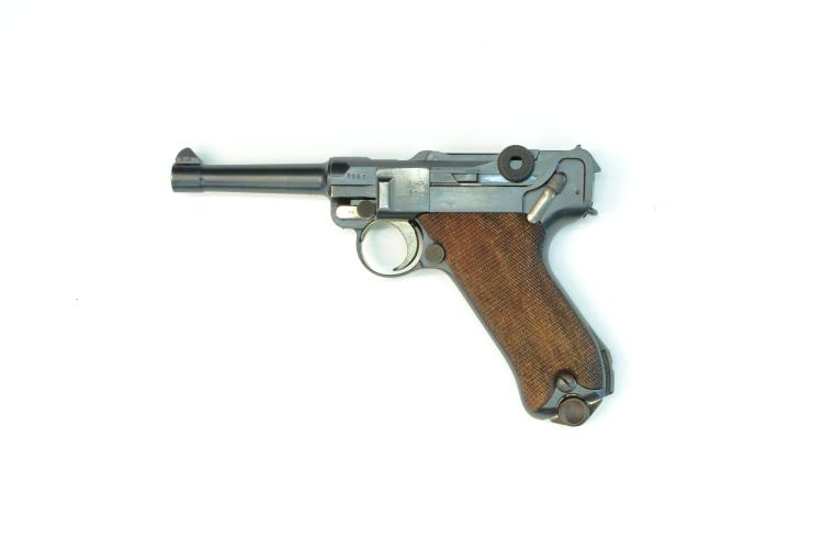 Imperial Germany, DWM, Pistole 08 1915, 9 mm Luger, #1980g, § B *