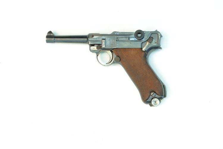 Imperial Germany, DWM, Pistole 08 1917 , 9 mm Luger, #5002c, § B *