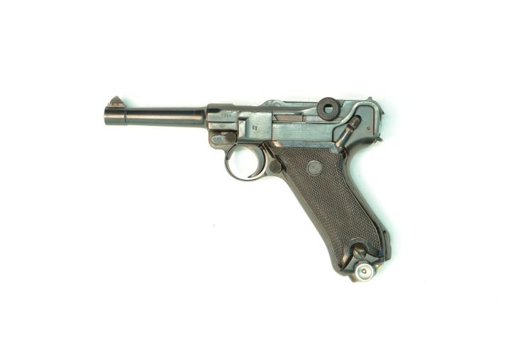 Germany / German Democratic Republic, Mauser, Pistole 08 Volkspolizei, 9 mm Luger, #8963b, § B *