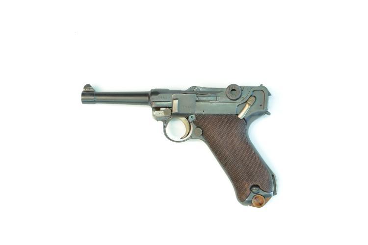 Germany, Erfurt, Pistole 08 Police, 1918/20, 9 mm Luger, #6440, § B *