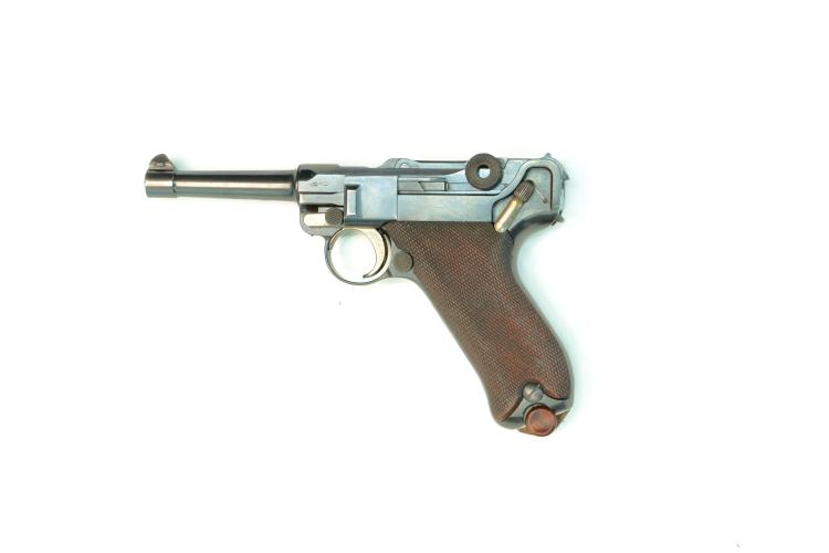 DWM, model 1908 commercial, .30 Luger, #41934, § B *