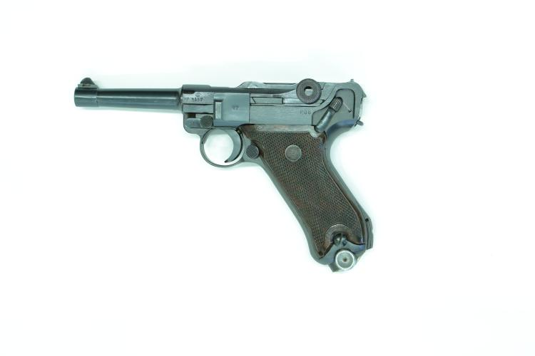 France/Austria/Italy, Mauser, Pistole 08 French occupation / Austrian Army, .30 Luger,  #1687 §B