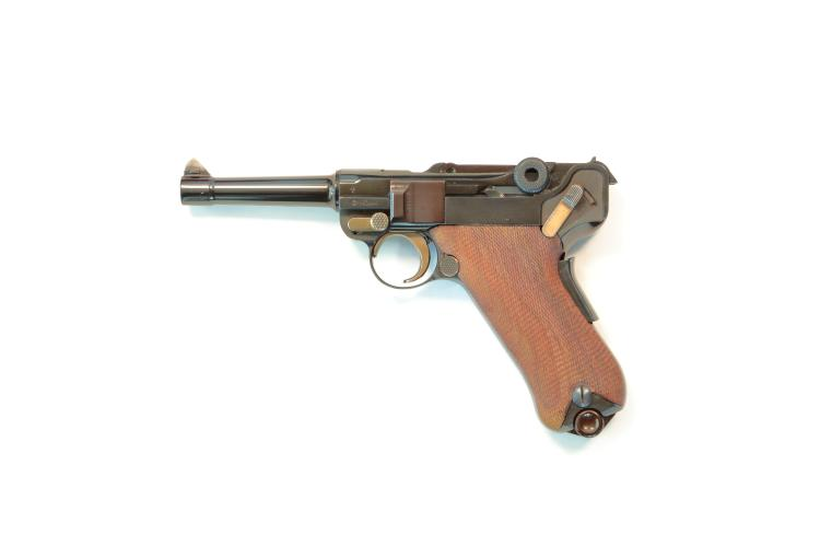 Mauser, modell according to 1906, 9 mm Luger, #11014625, § B *